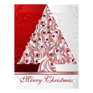 Postkarten-frohe Weihnachten Postkarte