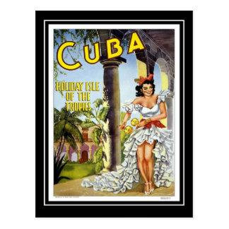 Postkarten-Vintage Reise Kuba Postkarte