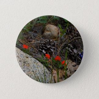 Potpourri Runder Button 5,1 Cm