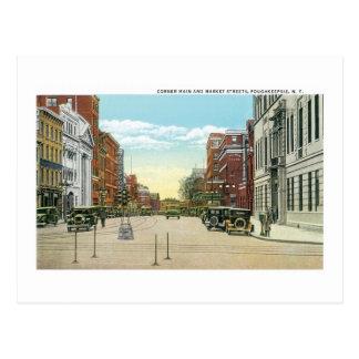 Poughkeepsie, NY Postkarte