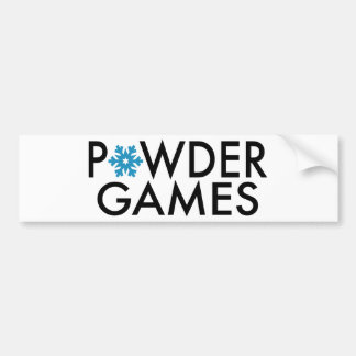 Powder Games Autoaufkleber