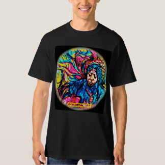 POWER Blues-Dunst psychedelisches T-Shirt