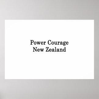 Power-Mut Neuseeland Poster