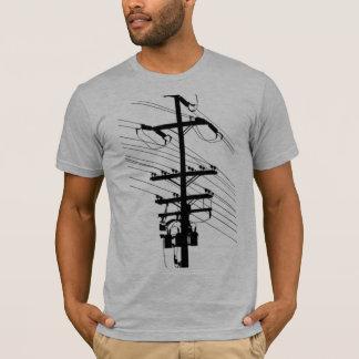 Power-Pole-Silhouette durch Robert Lopo T-Shirt