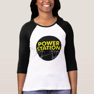 Power-Stations-Band-Mitglied nennt lange Hülse T-Shirt