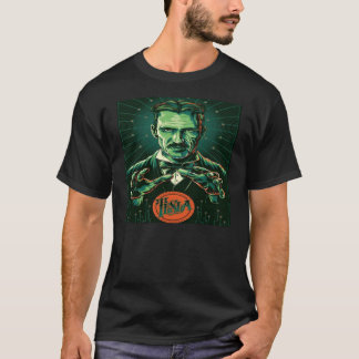 Power von nikola tesla T-Shirt