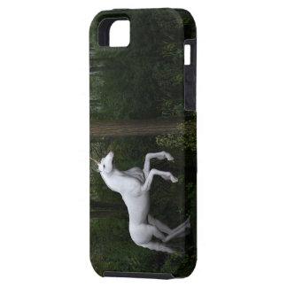 Prächtiges weißes Einhorn Tough iPhone 5 Hülle