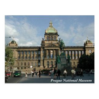 Prag-Nationalmuseum-Postkarte Postkarte