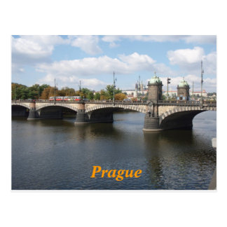 Prag-Postkarte Postkarten