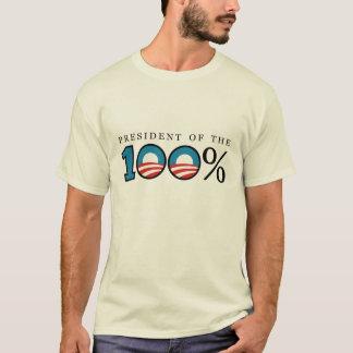 Präsident der 100 Prozent T-Shirt
