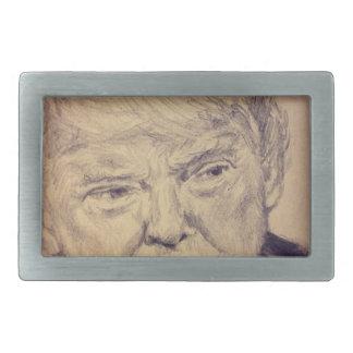 Präsident Donald J. Trump Rechteckige Gürtelschnallen