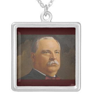 Präsident Grover Cleveland-22 &24th Versilberte Kette
