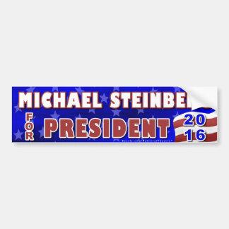 Präsident Michael-Steinberg Wahl 2016 Demokrat Autoaufkleber