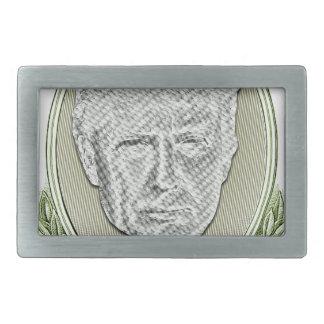 Präsident Trump Dollar Rechteckige Gürtelschnalle