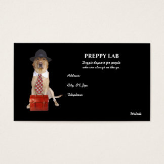 Preppie Labrador Visitenkarten