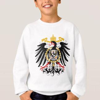 Preussisches rotes Schwarzes und Gold Eagles Sweatshirt