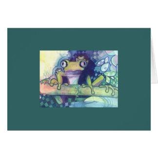 Prinz Frog Karte