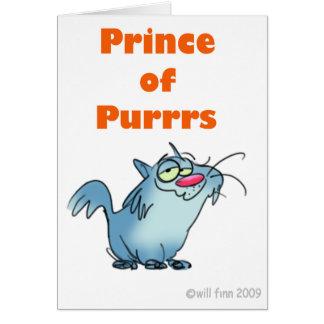 PRINZ OF PURRRS KARTE