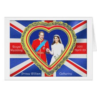 Prinz William und königliche Hochzeit Catherine Karte