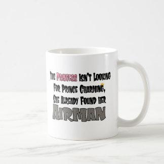 Prinzessin/Flieger Kaffeetasse
