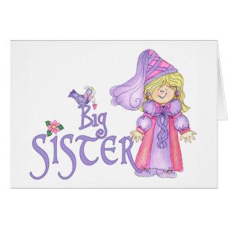 Prinzessin große Schwester Karte