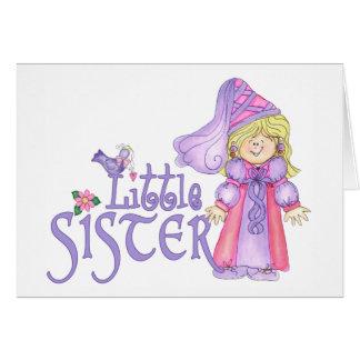 Prinzessin kleine Schwester Karte