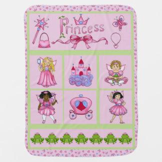 Prinzessin Pals (rosa Sammlung) Babydecken