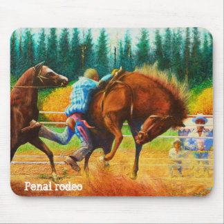 Prision Rodeo - wildes Tier Mousepad