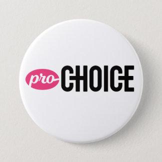 Pro-Wahl 3 Zoll weißes Knopf-Button Runder Button 7,6 Cm