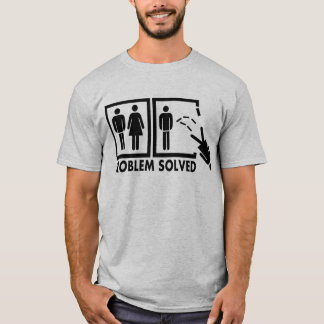 Problem gelöst - Frau T-Shirt