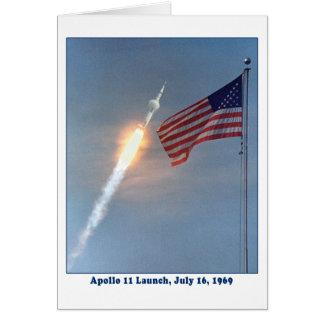 Produkteinführung Apollo 11 am 16. Juli 1969 Karte