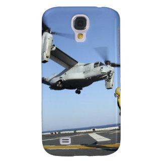 Produkteinführungen eines Osprey MV-22 vom USS Galaxy S4 Hülle