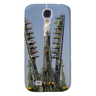 Produkteinführungs-Baugerüst wird in Platz Galaxy S4 Hülle