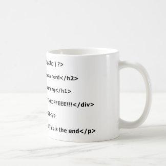 Programmierung der Liebe I Kaffeetasse