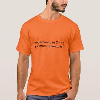 Programmierung in C++ ist… T-Shirt