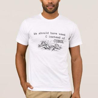 Programmierung in COBOL T-Shirt