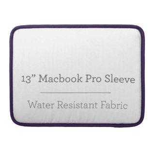 Prohülse der Gewohnheits-13in Macbook Sleeve Für MacBooks