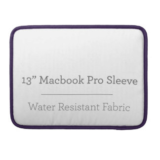 Prohülse der Gewohnheits-13in Macbook Sleeves Für MacBooks