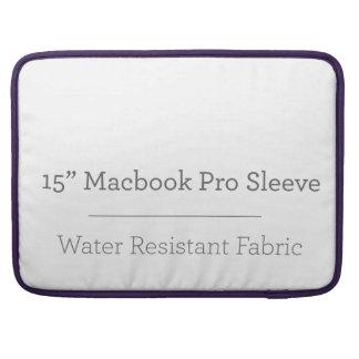 Prohülse der Gewohnheits-15in Macbook MacBook Pro Sleeve