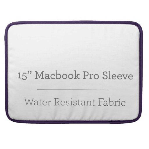 Prohülse der Gewohnheits-15in Macbook Sleeve Für MacBook Pro
