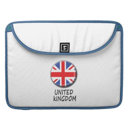 Prohülsen Vereinigten Königreichs Macbook Sleeves Für MacBooks