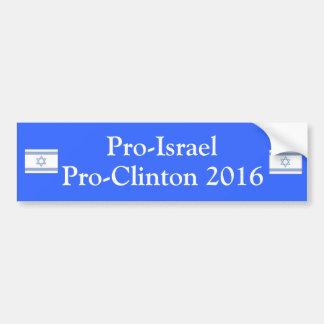 Proisrael Proclinton 2016 Autoaufkleber