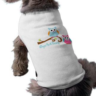 Projekt ist ein Segen-Hundeshirt Ärmelfreies Hunde-Shirt