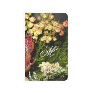 Protea-Blumenstrauß Taschennotizbuch