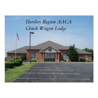 Proviantwagen-Häuschen   Hershey Regions-AACA Postkarte