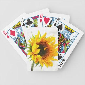 Provincetown Sonnenblume Bicycle Spielkarten