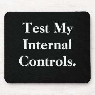 Prüfen Sie meine internen Kontrollen - unhöfliches Mousepads