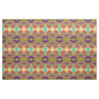 Prüfende Kugel-abstraktes mehrfarbiges gemustertes Stoff
