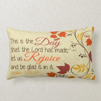 Psalm 118-24 lendenkissen