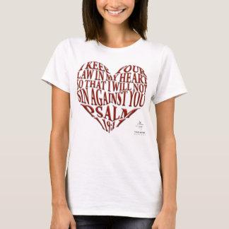Psalm-119:11 T - Shirt